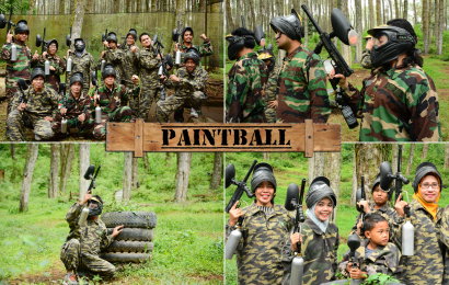 Paint Ball (War Game)